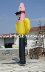 Customized Inflatable Air Dancer, Inflatable Flying Logo Dudes for Advertising