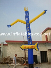 Car Wash Inflatable Air Dancer,Advertising Sky Dancer,Outdoor Flying Guys