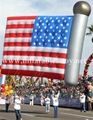 American Flags Helium Parade Floats Inflatable Patriotic Balloon 2