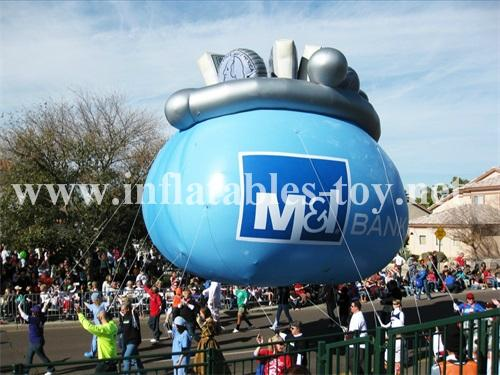 Fruit Inflatable Parade Characters Helium Floats 15