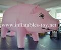 Custom Airtight Inflatable Pink Pig Parade Balloon 6