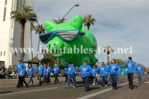 Custom Airtight Inflatable Pink Pig Parade Balloon 10