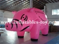 Custom Airtight Inflatable Pink Pig Parade Balloon 8