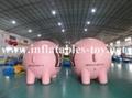 Custom Airtight Inflatable Pink Pig Parade Balloon 5