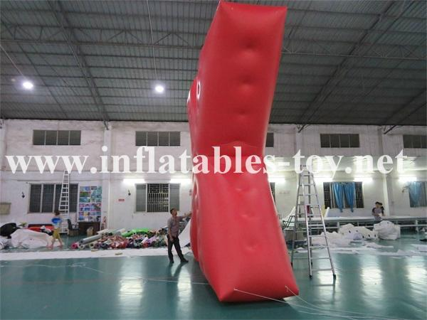 Customized X Shape Inflatable Parade Characters Helium Balloon 3