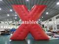 Customized X Shape Inflatable Parade Characters Helium Balloon 2