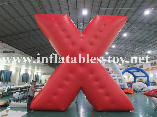 Customized X Shape Inflatable Parade Characters Helium Balloon 1