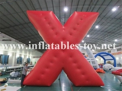 Customized X Shape Inflatable Parade Characters Helium Balloon