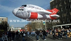 Air Force Airplane Helium Parade Floats Inflatable Balloon