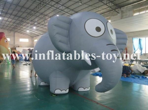 Inflatable Elephant Helium Balloon Events Flying Parade Balloon  4