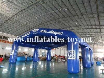 Large Inflatable Arch Tent, Waterproof Inflatable Exhibition Tent 1