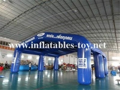 Large Inflatable Arch Tent, Waterproof Inflatable Exhibition Tent