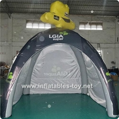 Big Inflatable Spider Air Dome Tents For Advertising