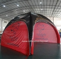 Big Inflatable Spider Air Dome Tents For Advertising 2