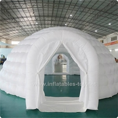 Inflatable Igloo Dome Tent , Inflatable Wedding Tent