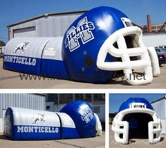 Inflatable Sports Entrance Tunnel,Inflatable Jagua Tunnel,Sport Tunnel Tent