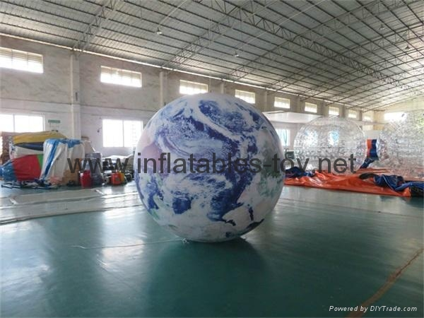 LED Lighting Inflatable Solar Planet Balloon for Event Decoration 2