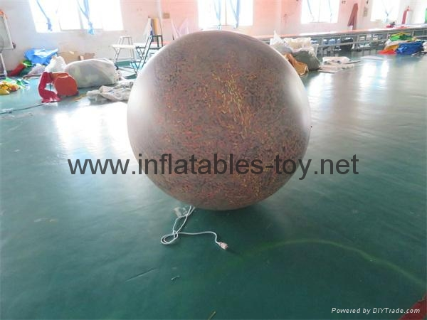 LED Lighting Inflatable Solar Planet Balloon for Event Decoration 6