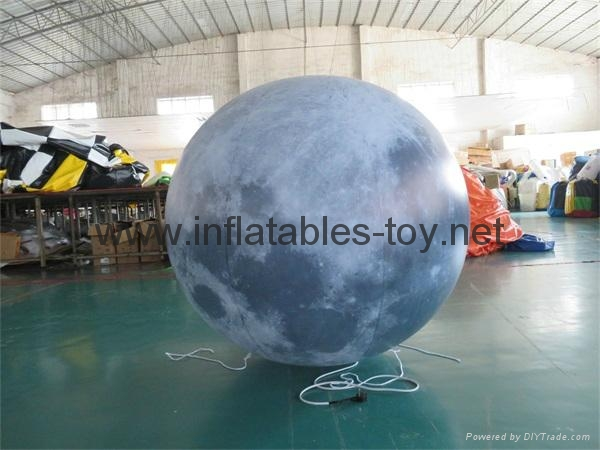 LED Lighting Inflatable Solar Planet Balloon for Event Decoration 5