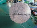 LED Lighting Inflatable Solar Planet Balloon for Event Decoration 7