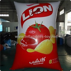 Customized Inflatable Air Bags, Advertising Inflatable Can Products Replica