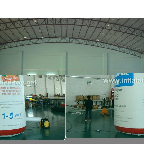Customized Inflatable Air Bags, Advertising Inflatable Can Products Replica 7
