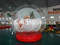 Giant Inflatable Human Snow Globe with