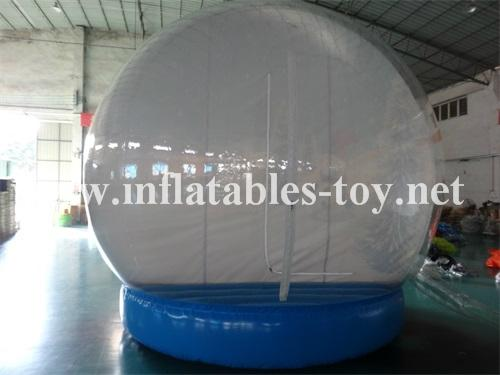 Christmas Inflatable Snow Globe