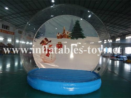 Christmas snow globe for Christmas decoration