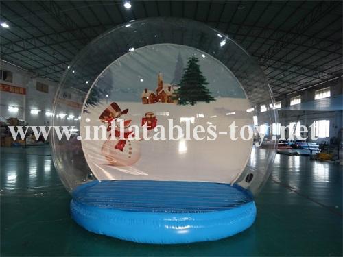 inflatable snow globe for Christmas snow globe for Christmas decoration