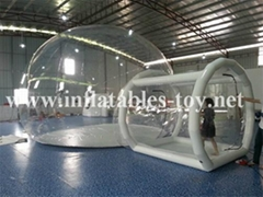 Inflatable Bubble Lodge Dome Tent for Outdoor Camping