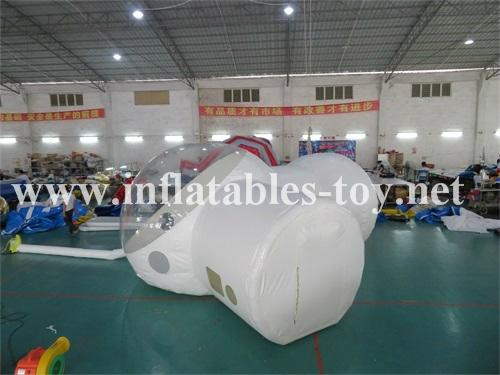 Inflatable Bubble Tent with one Tunnel