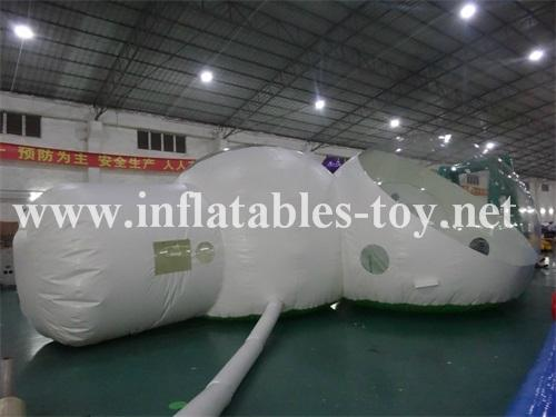 Inflatable Hotal Clear Dome Tent, Inflatable Bubble Camping Dome Tent 6