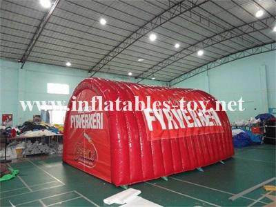 Airtight Inflatable Archway Tent for Emergency, Waterproof Airsealed Tent 2