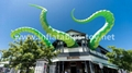 Giant Artist Inflatable Tentacles on the Building for Advertising 11