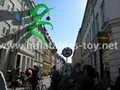 Giant Artist Inflatable Tentacles on the Building for Advertising 12