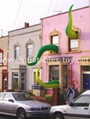 Giant Artist Inflatable Tentacles on the Building for Advertising 14