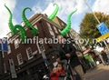Giant Artist Inflatable Tentacles on the Building for Advertising 15