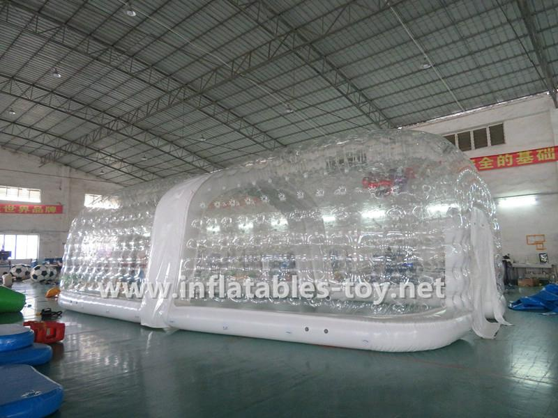 Inflatable Clear Cube Tent , Transparent Inflatable Tent 6