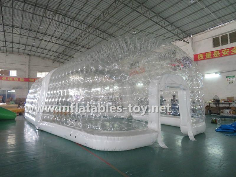 Inflatable Clear Cube Tent , Transparent Inflatable Tent 5