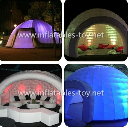 Inflatable Airsealed Igloo Dome Tent for Events Party