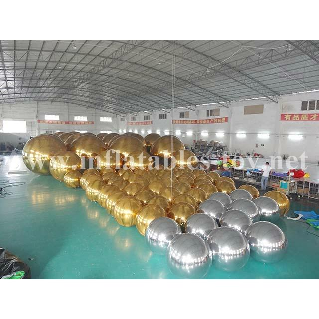 Outdoor Amazing Attraction Mirror Balloon