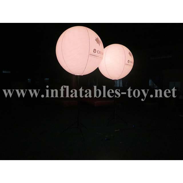 Pole Stand Balloon, Lighting Stand Balloon, Crystal Lighting Balloon 8