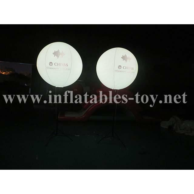 Pole Stand Balloon, Lighting Stand Balloon, Crystal Lighting Balloon 9
