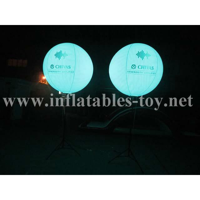 Pole Stand Balloon, Lighting Stand Balloon, Crystal Lighting Balloon 6