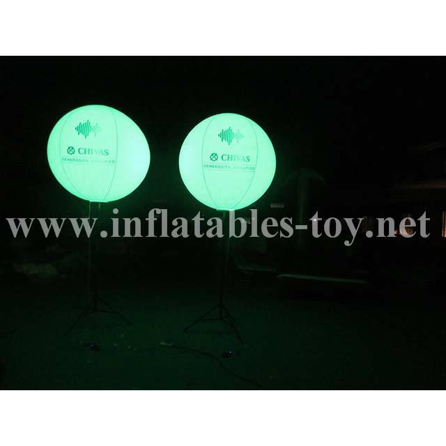 Pole Stand Balloon, Lighting Stand Balloon, Crystal Lighting Balloon 5