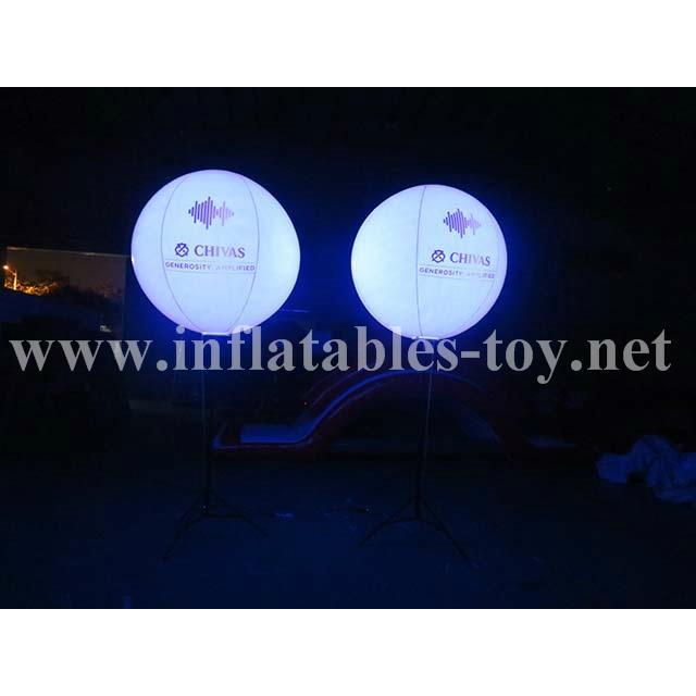 Crystal Lighting Balloon,Standing Balloon,Lighting Stand Balloon