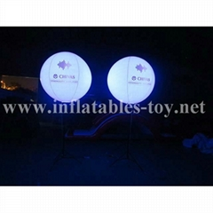 Pole Stand Balloon, Lighting Stand Balloon, Crystal Lighting Balloon