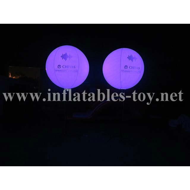 Pole Stand Balloon, Lighting Stand Balloon, Crystal Lighting Balloon 3
