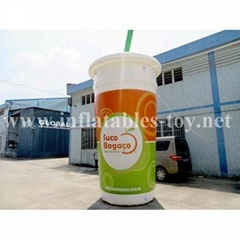Inflatable Can Replica for Advertising, Inflatable Shape Models